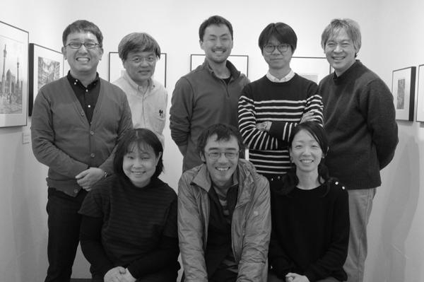 モノクロ普及委員会 東京支部展「monochrome garden」始まりました。