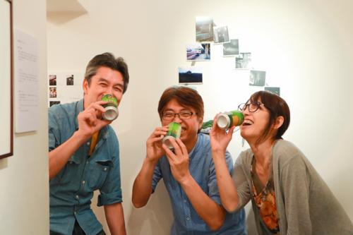直井雄章・ヒノヨウコ・米屋こうじ 写真展「デルタ線」始まりました。