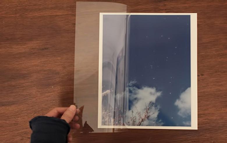 フィルム・カバー + 無酸の台紙