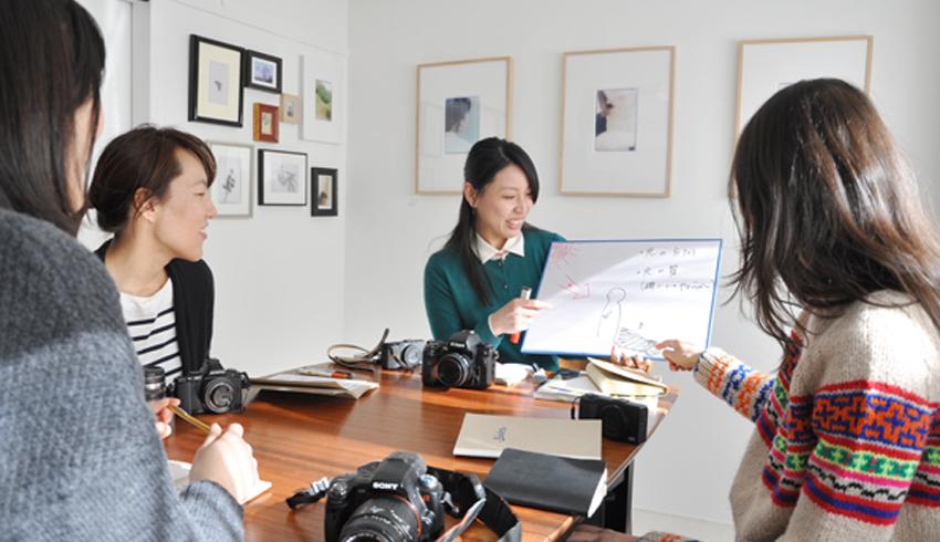 女性による女性のための写真教室 基礎コース