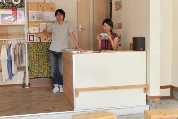 パレーズギャラリー・田中さんとナダール・林