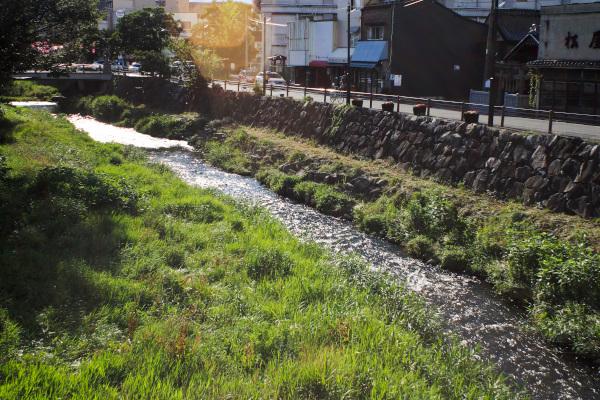 松本・女鳥羽川