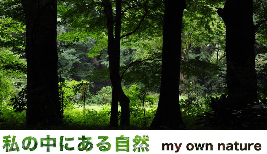 「私の中にある自然 / my own nature」
