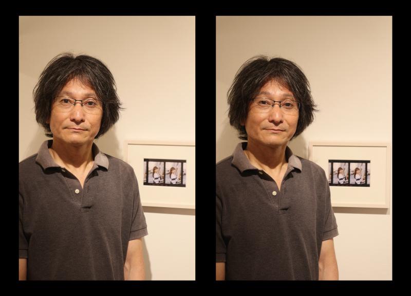 都筑淳写真展「偽ステレオ写真」始まりました。