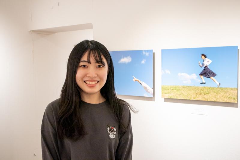 めざせ個展2020グランプリ・戸嶋日菜乃写真展「2年の瞬き」始まりました。