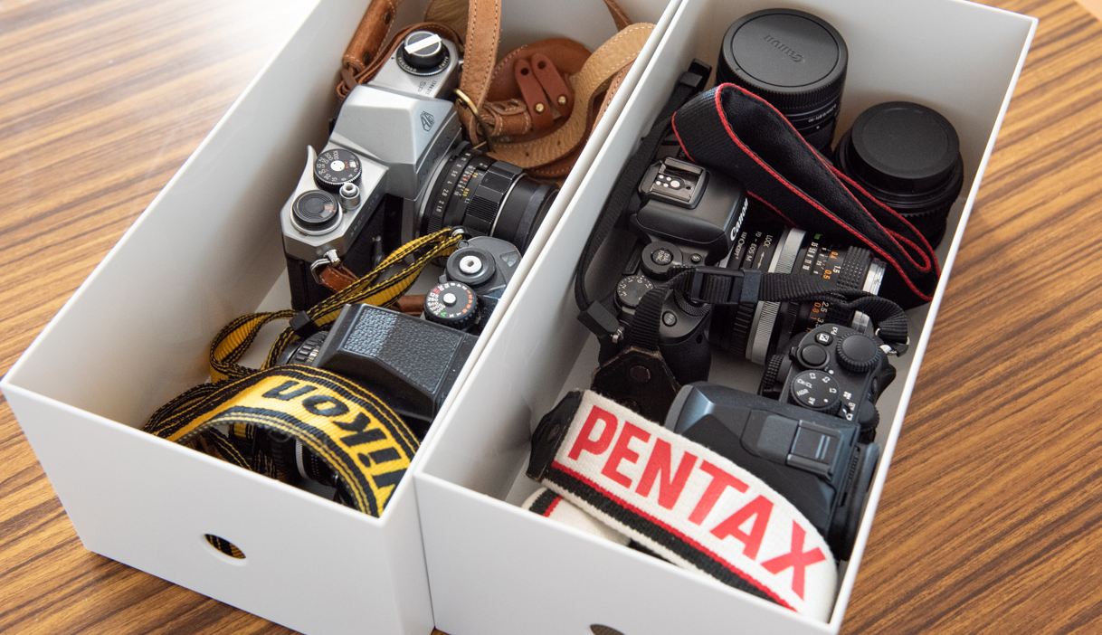 「カメラの収納・保管方法」
